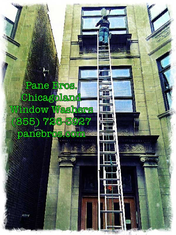 Pane Bros Residential Window Washing Chicago IL  Apartment Cleaning Chicago