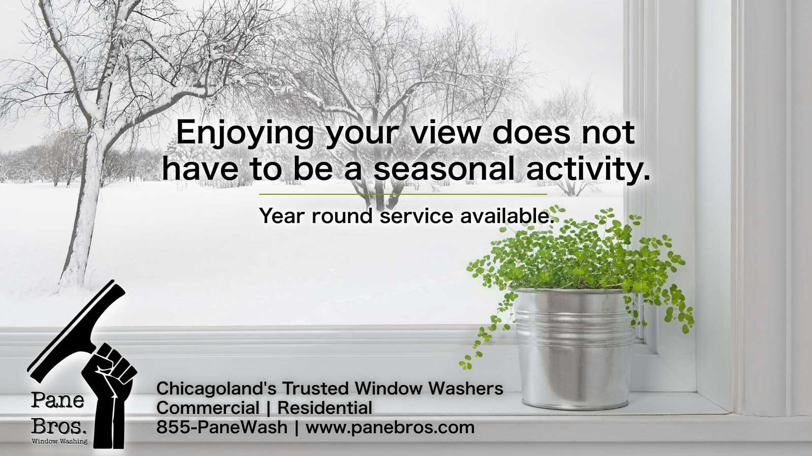 caption: enjoying your view does not have to be a seasonal activity