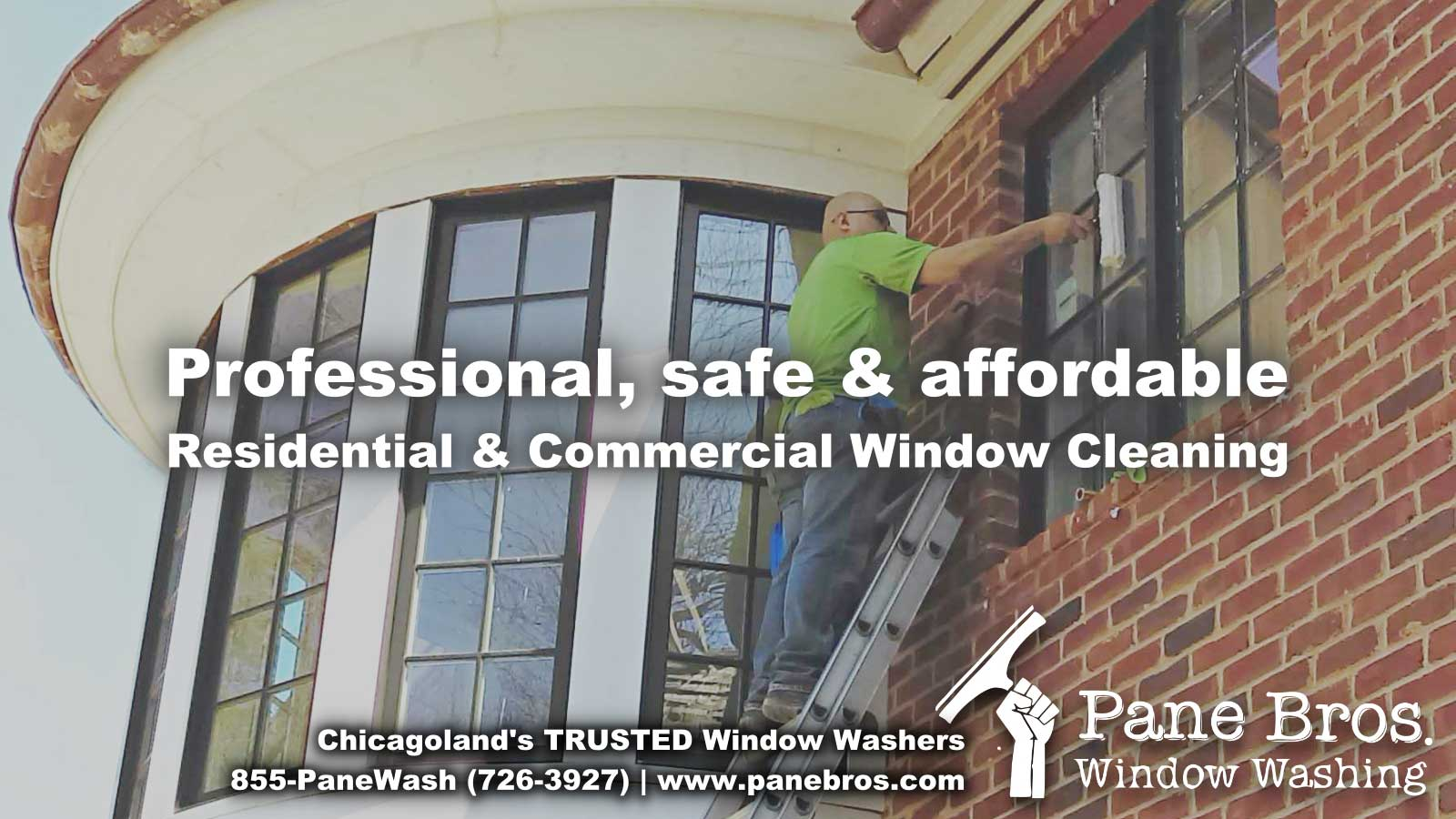 caption: professional safe and affordable residential and commercial window cleaning